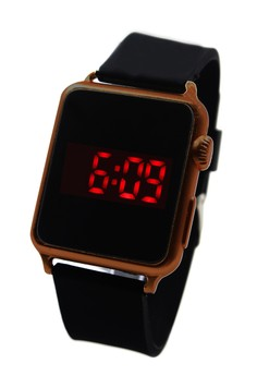 Pivot Square Touch LED Unisex Silicon Strap Watch