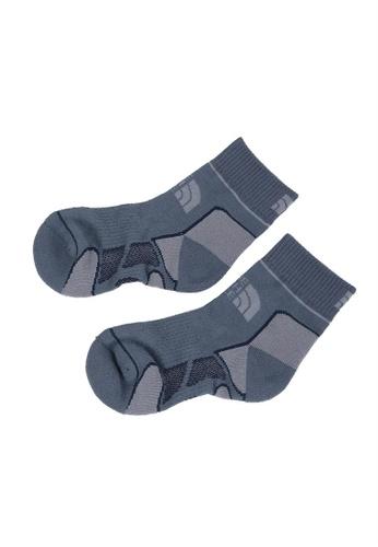 The North Face multi TNF Hiking Sock Lightweight-Ap TNF Black/Turbulence Grey/Mid 22229AC1E4F05CGS_1
