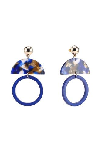 Skinnydip London blue Lucy Perspex Earrings 5B30DACC6238E3GS_1