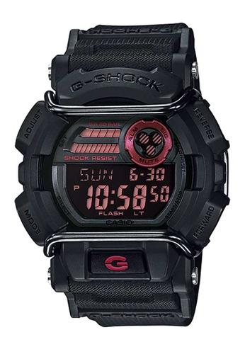 CASIO black Casio G-Shock Pink and Black Resin Watch A3A6CAC13DA930GS_1