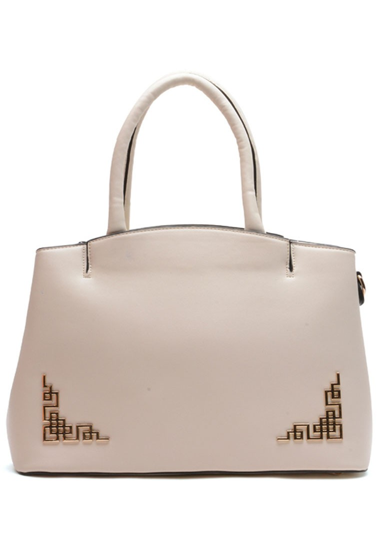 European Style Structured Top Handle Bag