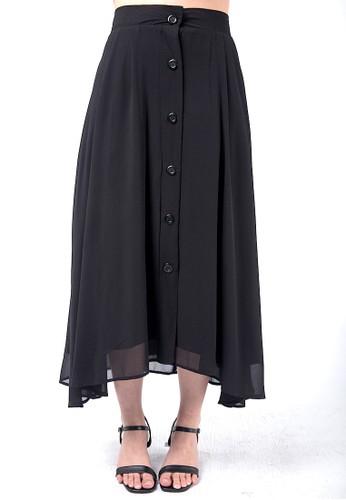 Simplify black Felis Skirt 046A0AA1E2262EGS_1