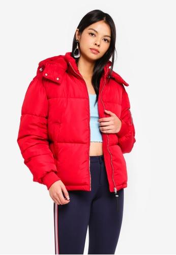 Vero Moda red Lumie Short Jacket 80B0CAA0609A9FGS_1