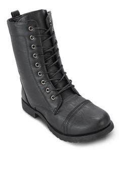 Captain Lace Up Boots