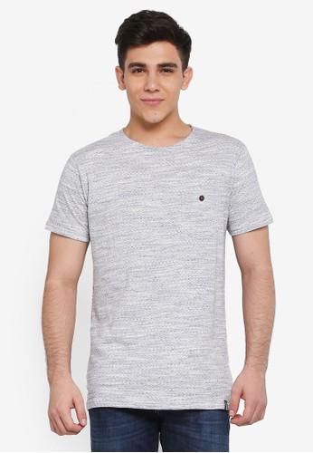 Indicode Jeans grey Palm Beach Pocket T-Shirt 9F4EBAA9E69D91GS_1