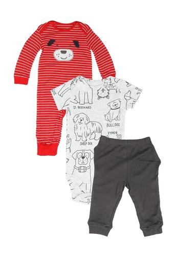 Milliot & Co. red Andrew Boys Newborn Set 0A405KA5BD52E2GS_1