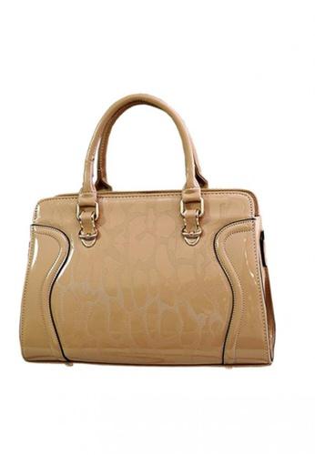 TCWK brown Ladies Shoulder Bag TC258AC48MPFMY_1