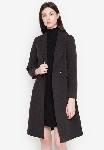 Well Suited grey Chic Trench Coat A8285AAE280AF7GS_1