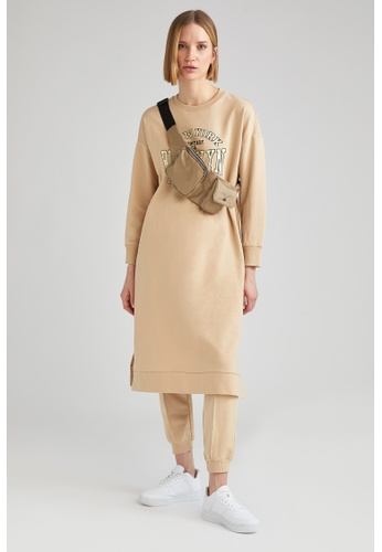 DeFacto brown Woman Knitted Sweat Tunic 4B49BAA050198CGS_1