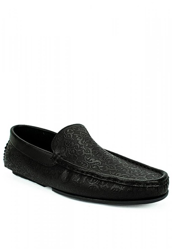 Mario D' boro Runway black Darwin Casual Shoes 346D0SH2024BBFGS_1