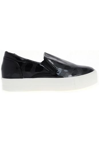 Maxstar black Maxstar C7 Span PU Synthetic Leather White Platform Slip on Sneakers (30) MA164SH33CIWSG_1