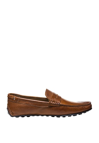 Sebago brown Mens Schwentine Driving Shoes SE328SH97OCSPH_1