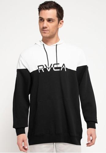 RVCA black Ace Clear Hoodie CA217AA0DB37E4GS_1