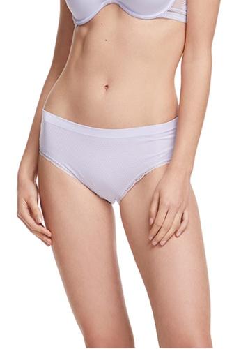 6IXTY8IGHT purple Circular Knit Mid-rise Hipster Panty PT08957 3EA1FUS60DE8E3GS_1
