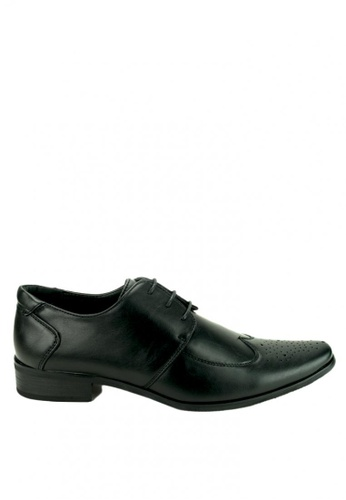 Cardam's Lifestyle black Albert Formal Shoes CA993SH0JF9OPH_1