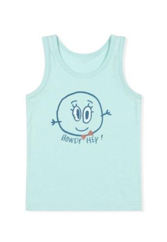 Chica Chico blue Smilelee Boy Undershirts FFBE5KAFDDD2C9GS_1