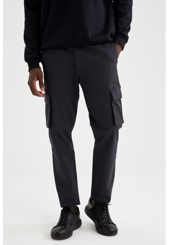 DeFacto grey Regular Trousers EA463AA6409B0DGS_1