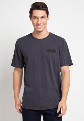 hurley black Hvy Octane T-Shirt 1A01EAAD5D272EGS_1