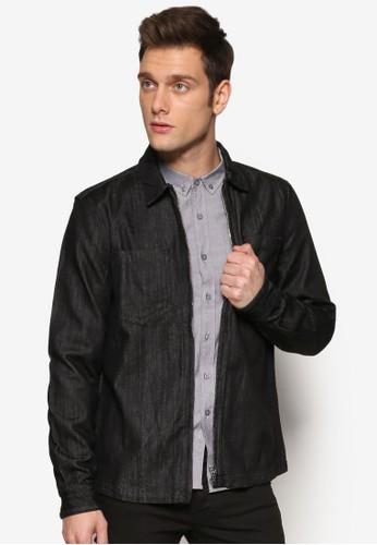 拉鍊式丹寧外套, 服飾,esprit au 外套