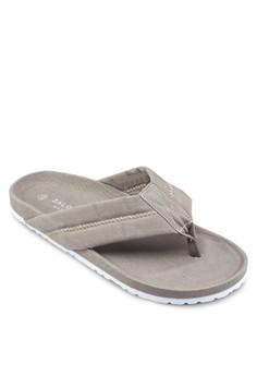 Basic Canvas Thong Sandals