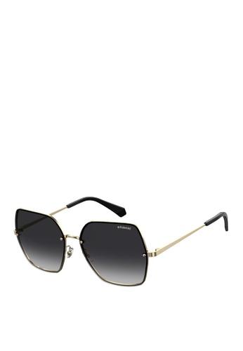 Polaroid gold Pld 4091/S Sunglasses 38BAAGLAEA4EADGS_1