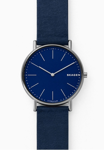 Skagen blue Signatur Analog Watch SKW6481 7C54BACF2F3D03GS_1