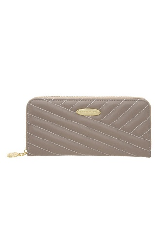 British Polo grey British Polo Glenda Wallet DF903ACA086AF0GS_1
