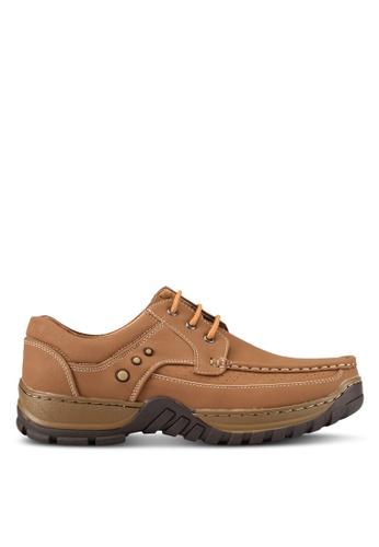 Albertini brown Casual Sneakers AL779SH0SAWJMY_1
