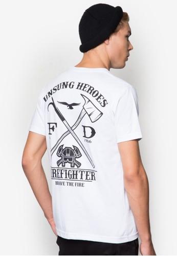 Unsung Heroes T-shirt, 服飾esprit手錶專櫃, T恤