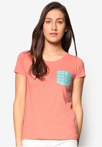 印花口袋基本款TEE、 服飾、 T-shirtPenshoppe印花口袋基本款TEE最新折價
