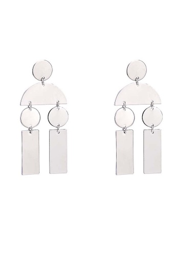 A-Excellence gold Circles Earrings A9B8AACCA37676GS_1