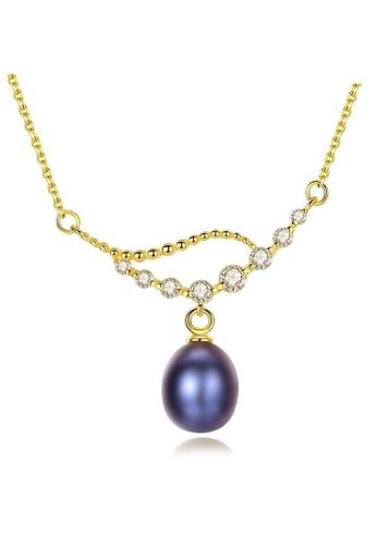 A.Excellence black Premium Black Pearl Elegant Necklace 62AF6AC6C1BB95GS_1