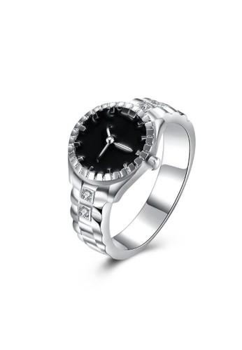 Tiaria white Tiaria Gold Plated Ring Casual Fashion SPCR887-9--K10 D8560AC16A5D06GS_1