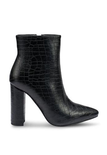 Raid black Decore Ankle Boots D7E23SHD0F2495GS_1