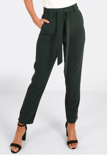 FORCAST green Anthea Tie Up Pants 33188AA65E4C6BGS_1