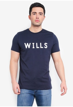 3b3a93bd596 Jack Wills navy Charleston Graphic T-Shirt 48B16AACC67398GS_1