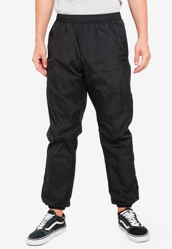 Factorie 黑色 Shell Track Pants 3D9BEAADDCB15FGS_1