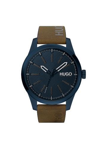 Hugo Boss blue HUGO Invent Blue Men's Watch (1530145) FA877AC68AC14EGS_1