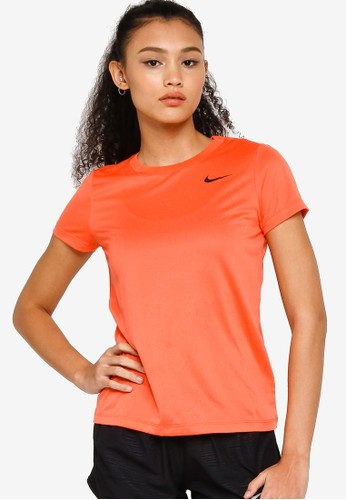 Nike orange As W Nk Df Leg Tee Crew A563FAA03E72E2GS_1