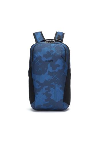 Pacsafe blue Pacsafe Vibe 20L Anti-Theft Backpack (Blue Camo) D1D7CAC70C8482GS_1