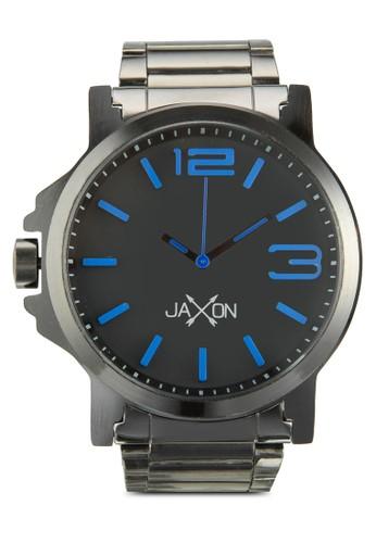 Barton 立體數字刻esprit hk outlet度不銹鋼手錶, 錶類, 不銹鋼錶帶