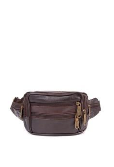 Alejandro Men's Belt Leather Bag