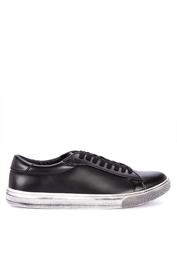 BENCH black Lace Up Sneakers 291BBSH8BE60B5GS_1