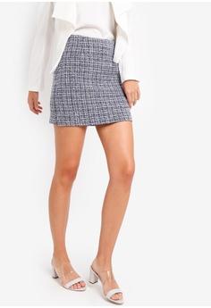 bd1ced1abaf ZALORA multi Tweed Mini Skirt 5EBFEAAB5BAC5DGS 1