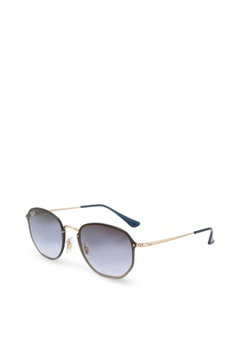 a0449ddc79605a Ray-Ban gold Highstreet RB3579N Sunglasses C2163GL06965F4GS 1