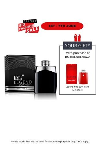 Montblanc black Montblanc Legend EDT 100ml MO578BE66VBPMY_1