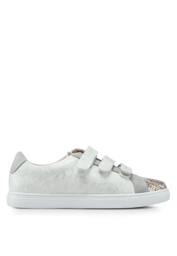 VANESSA WU silver Nao Sneakers 948D5SHC38FB8AGS_1