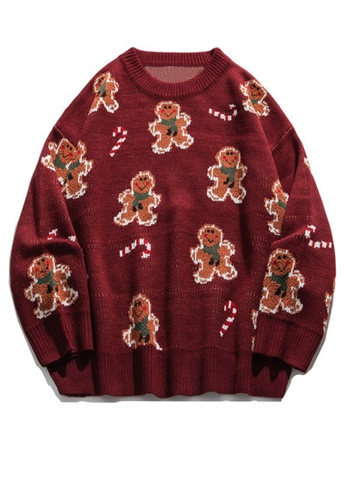 Twenty Eight Shoes Trend Biscuit Cartoon Knit Sweater HH0512 1BF07AAC2A9D04GS_1