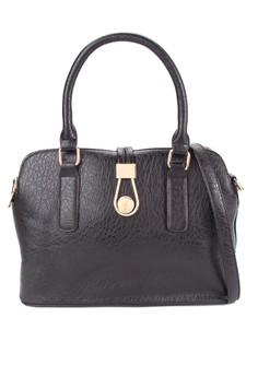 Charlotte Structured Shoulder Bag