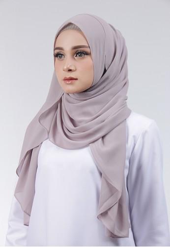 Cantik Kerudung grey Adela Instant A94EAAA086AC91GS_1